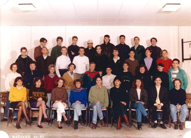 photo de classe pr pa hec 89 90 de 1990 lyc e clemenceau copains d 39 avant. Black Bedroom Furniture Sets. Home Design Ideas