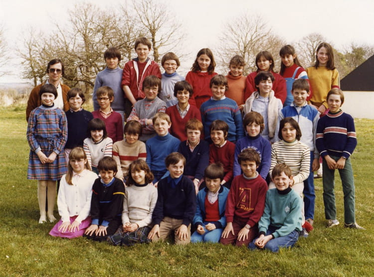 photo de classe cm2 de 1983 ecole primaire breal sous montfort copains d 39 avant. Black Bedroom Furniture Sets. Home Design Ideas