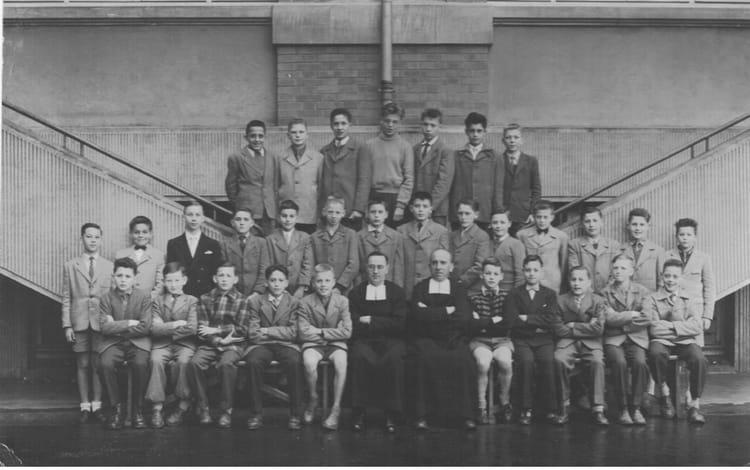 photo de classe 6 232 me institution de la salle metz de 1955 institution de la salle copains d avant