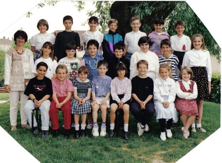 Photo De Classe Ce2 De 1995 Ecole Champ Bouvier Jassans Riottier