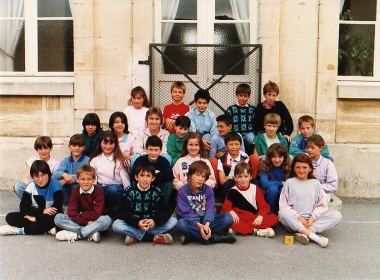 Photo de classe cm2 de 1987 ecole leclerc pierry for Leclerc pierry