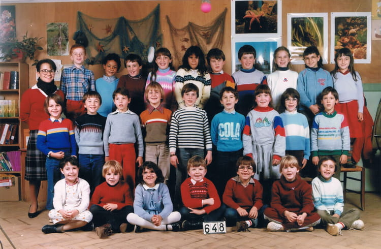Photo de classe ce2 de 1985 ecole notre dame du sacre for Garage noyen sur sarthe