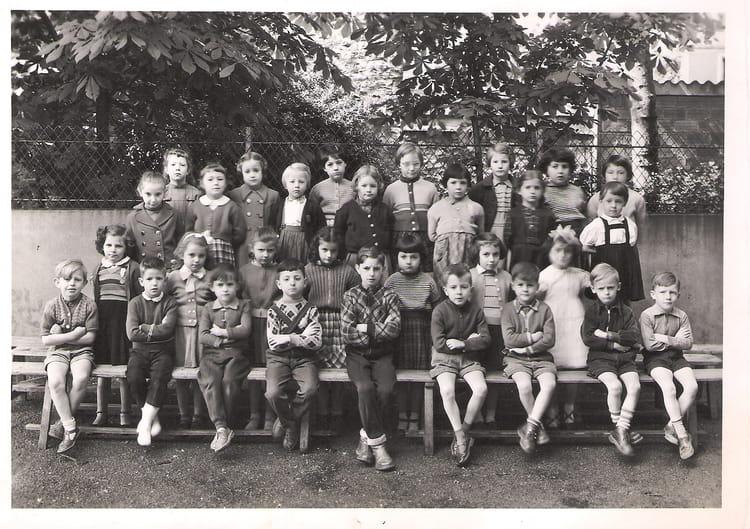 Photo de classe classe de 11 me de 1955 cours notre dame for Domon plan b