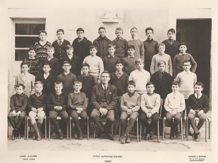 Photo de classe 5 me de 1965 lyc e alphonse daudet for Lycee alphonse daudet