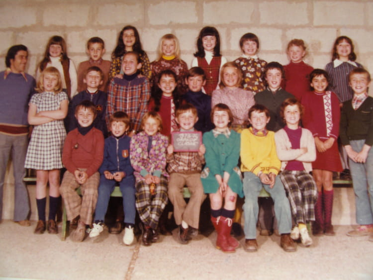 photo de classe de 1972 ecole jean jaures mareuil les meaux copains d 39 avant. Black Bedroom Furniture Sets. Home Design Ideas