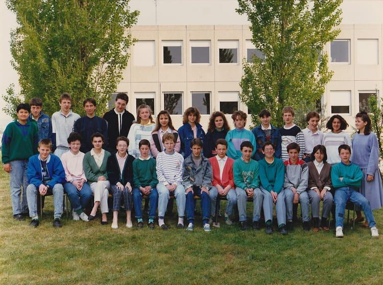 de classe 4e 19871988 de 1987, Collège Bois Franc  Copains davant ~ College Bois D Orceau