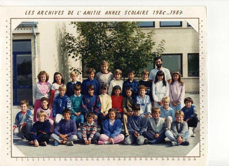 Photo De Classe Classe De Cm2 De 1986 Ecole Alexis Conio Witry Les