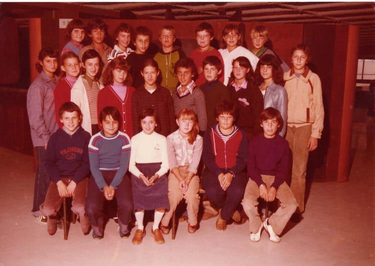 Photo de classe 5ème A de 1979, Collège Du Bois De La  ~ Ent Bois De La Barthe