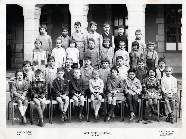 Photo de classe ce2 mr boyer de 1964 ecole groupe - Mr bricolage gueret ...