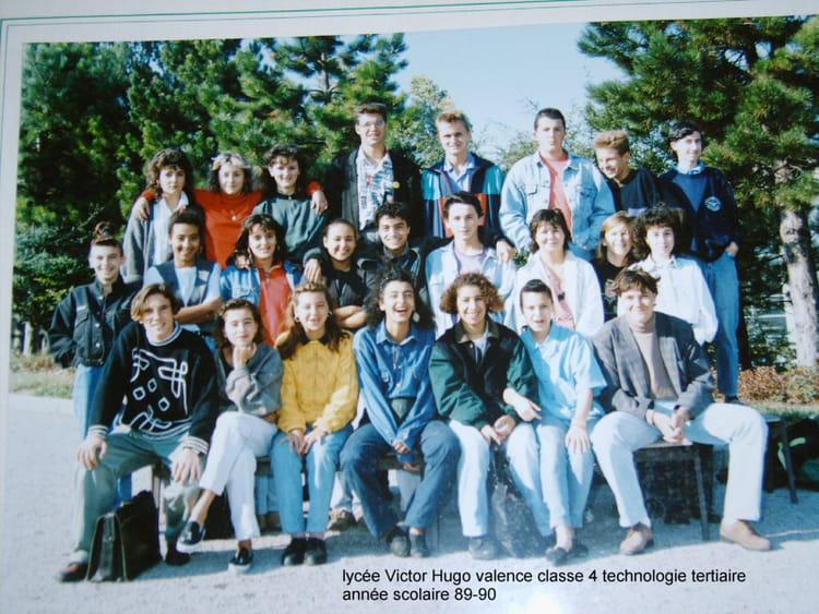 Photo de classe 4 TECHNOLOGIE TERTIAIRE de 1990, Lycée Professionnel ...