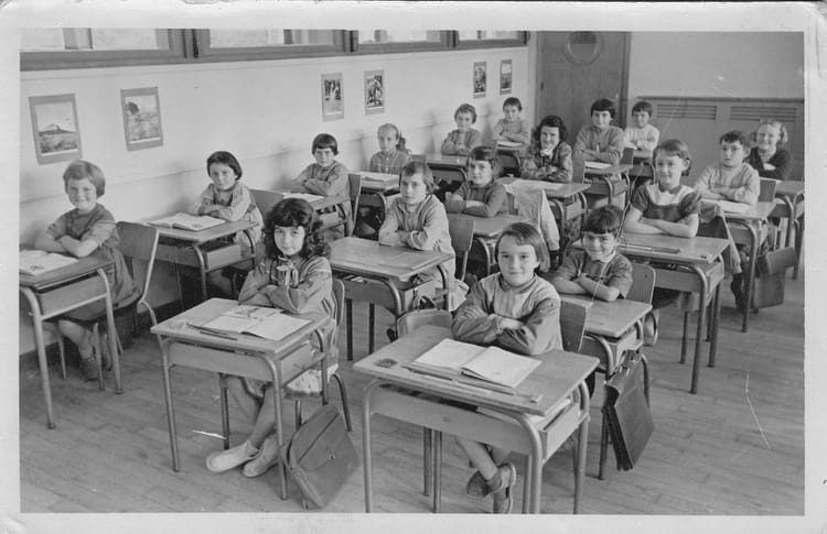 photo de classe ecole donges de 1959 ecole primaire. Black Bedroom Furniture Sets. Home Design Ideas
