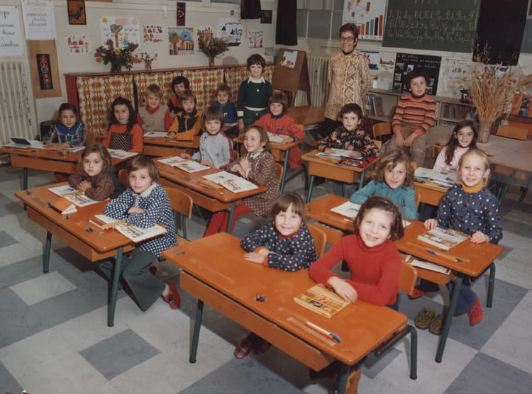 photo de classe cp ce1 de 1975 ecole pierre brossolette. Black Bedroom Furniture Sets. Home Design Ideas