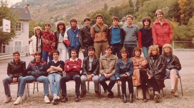 Photo de classe Terminale G3 de 1982, Itecboisfleury