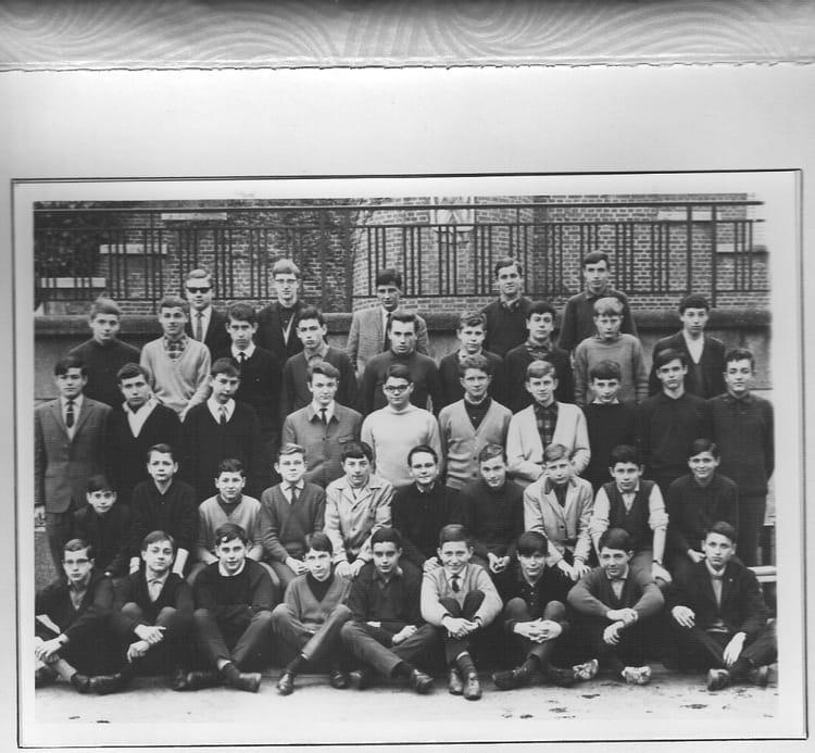 photo de classe 3 eme de 1964 coll 232 ge jean baptiste de la salle copains d avant