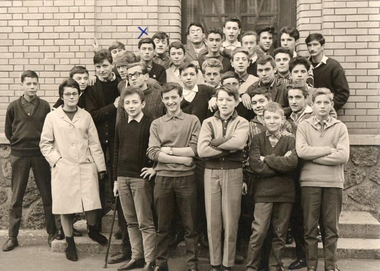 photo de classe 3 176 ou 2 176 techn coll 232 ge le prieur 233 maisons laffitte de 1964 le prieure copains