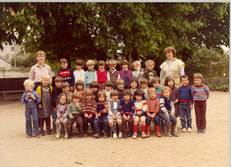 photo de classe maternelle de 1983 ecole le couvent sainte maure de touraine copains d 39 avant. Black Bedroom Furniture Sets. Home Design Ideas