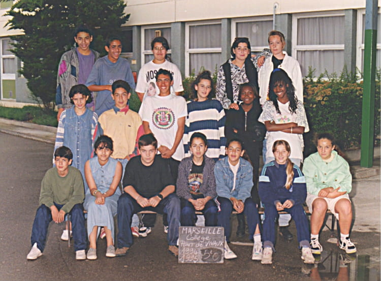 photo de classe 5 me de 1994 coll ge pont de vivaux copains d 39 avant. Black Bedroom Furniture Sets. Home Design Ideas
