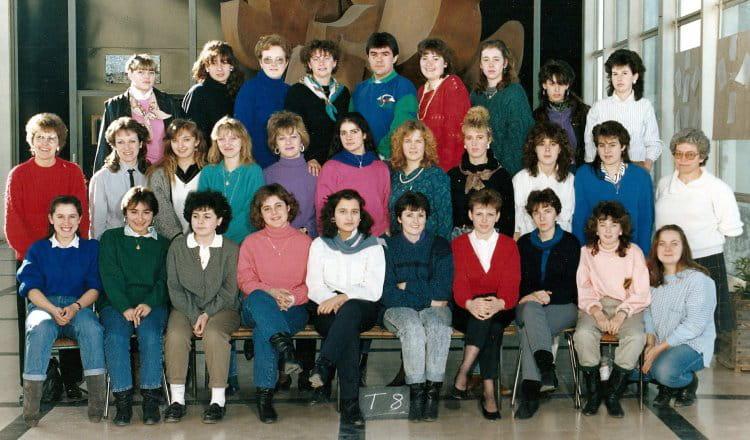 Photo de classe terminale 8 langevin beauvais de 1988 lyc e paul langevin copains d 39 avant - Nathalie beauvais cours de cuisine ...