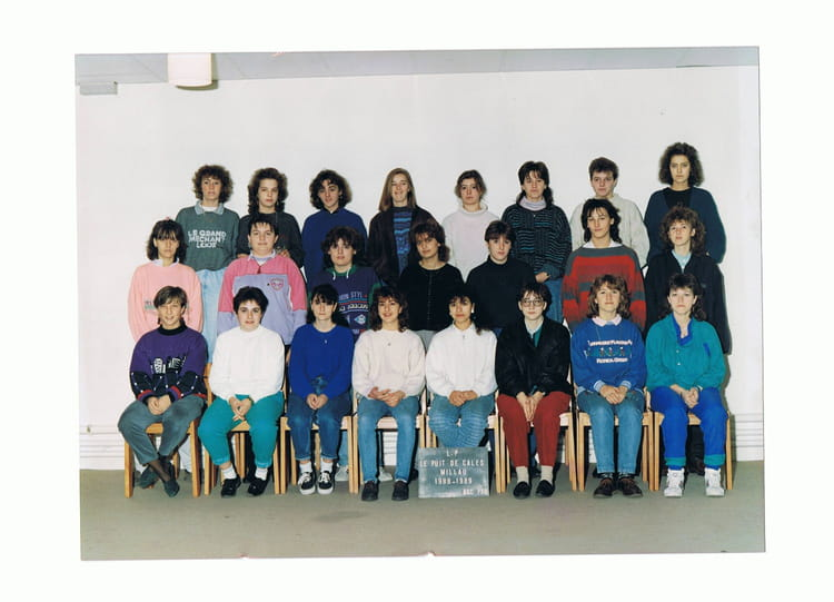 Photo de classe bac pro option a de 1988 lyc e polyvalent for Programme bac pro cuisine