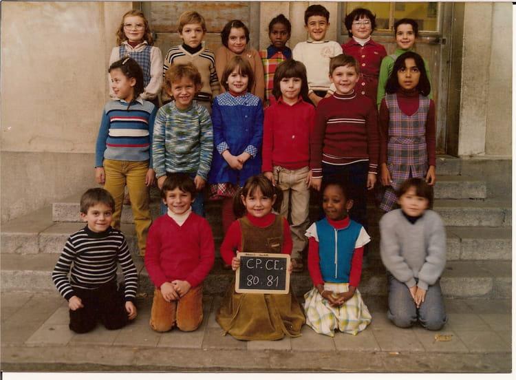 photo de classe cp de 1980 ecole louis marin la ciotat copains d 39 avant. Black Bedroom Furniture Sets. Home Design Ideas