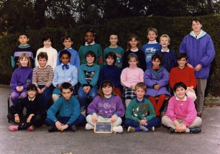 Photo de classe cm2 de 1989 ecole jacques prevert for Garage bailleau le pin