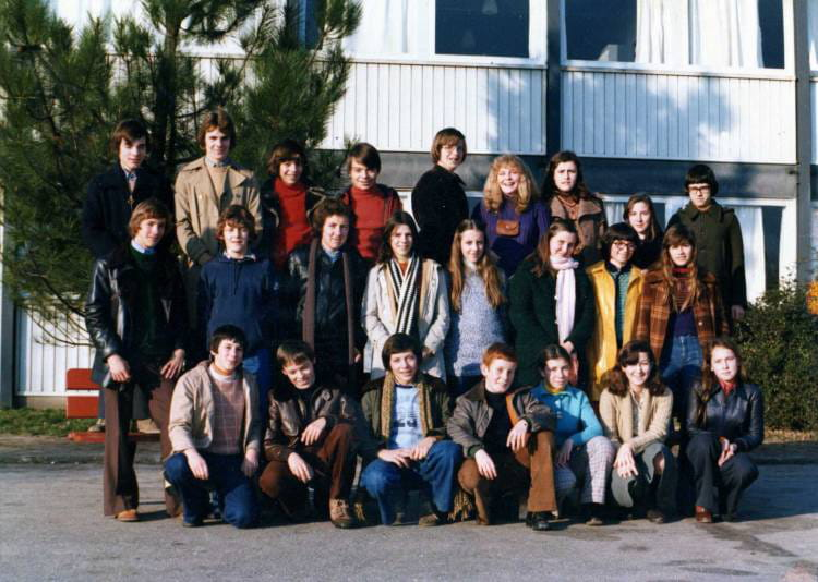 Photo De Classe 3eme 1c De 1976 College Capeyron Copains D Avant