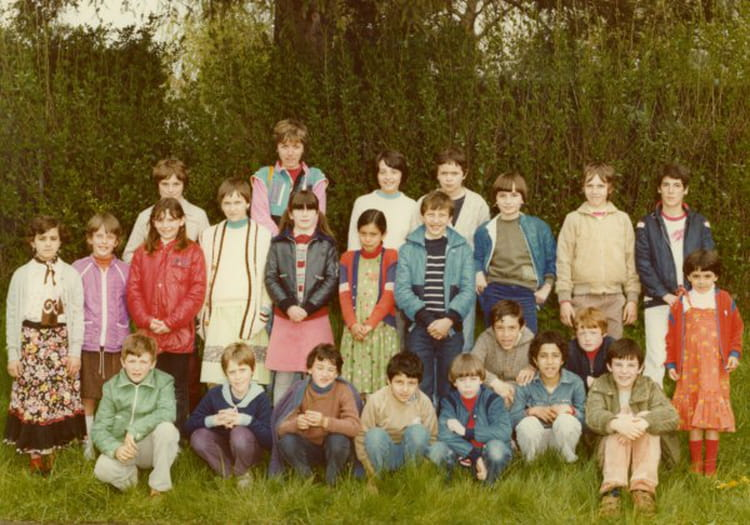 Photo de classe cm2 de 1983 ecole rene cassin delle for Natacha domon