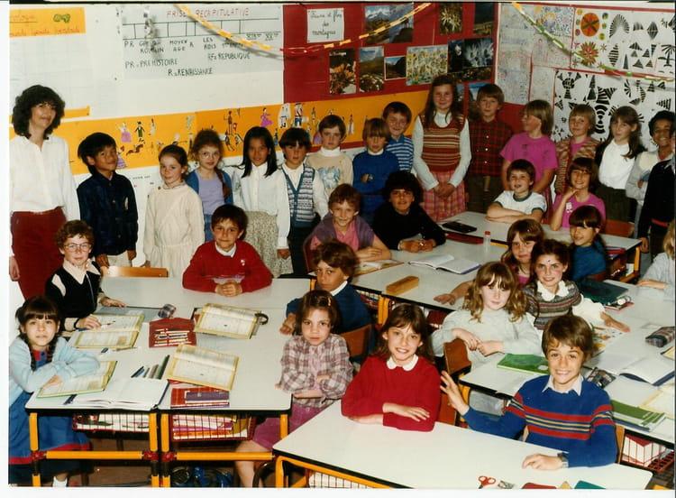 photo de classe cm1 de 1983 ecole andre malraux le coudray montceaux copains d 39 avant. Black Bedroom Furniture Sets. Home Design Ideas