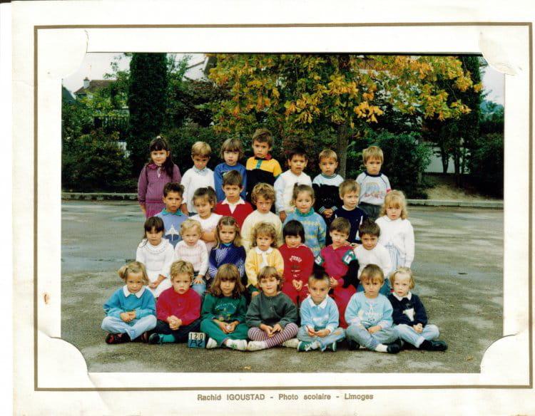 photo de classe maternelle de 1988 ecole groupe scolaire jean mace gueret copains d 39 avant. Black Bedroom Furniture Sets. Home Design Ideas