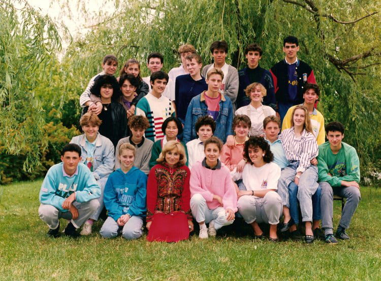 photo de classe 3em de 1988 coll ge alouette copains d 39 avant. Black Bedroom Furniture Sets. Home Design Ideas