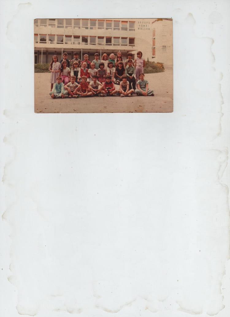 Photo de classe cm1henri wallon 38150 roussillon de 1983 for 38150 roussillon