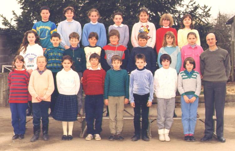 Photo de classe cm2 de 1987 ecole du sacre coeur saint - Garage blanchard saint georges sur loire ...