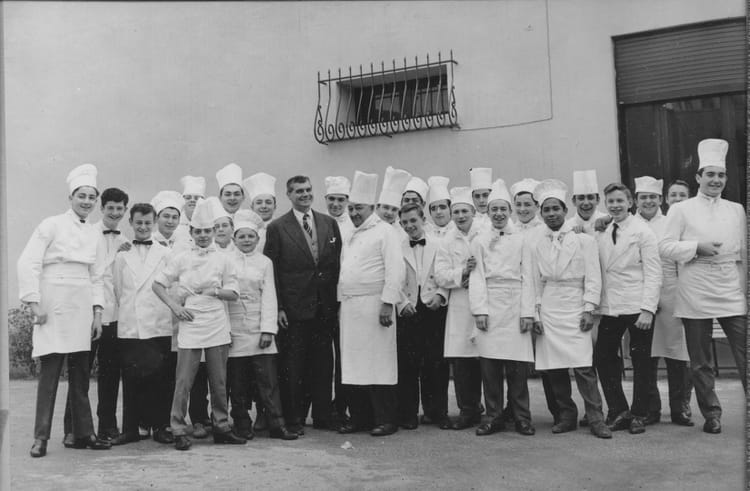 Photo de classe apprentis marseille colbert 1960 de 1960 - Recherche apprenti cuisine ...