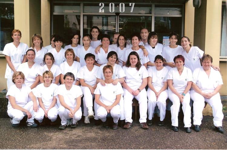 photo de classe aide soignante 2007 de 2007  centre de formation d u0026 39 aides soignants