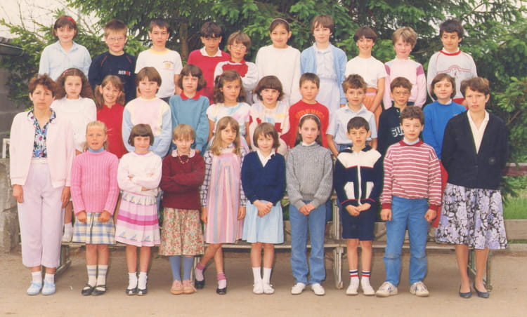 Photo de classe ce2 de 1985 ecole du sacre coeur saint - Garage blanchard saint georges sur loire ...