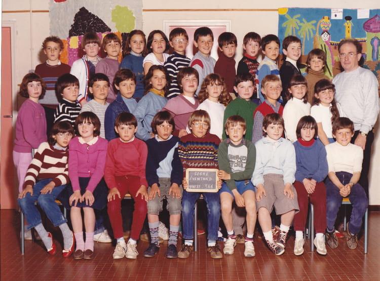 photo de classe cm1 de 1983 ecole primaire d 39 eventard copains d 39 avant. Black Bedroom Furniture Sets. Home Design Ideas