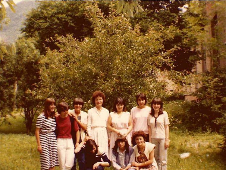 photo de classe 2 bsc de 1980 lyc 233 e portes de l oisans copains d avant