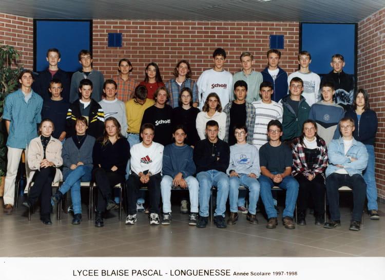 Photo de classe 1 re sv2 de 1997 lyc e blaise pascal cit - Art cuisine longuenesse ...