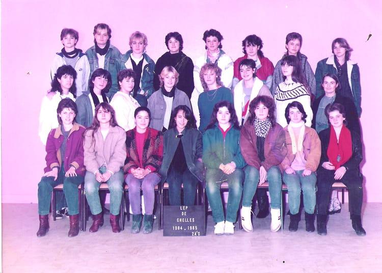 photo de classe l e p louis lumi 232 re 224 chelles 1984 1985 de 1984 lyc 233 e professionnel louis
