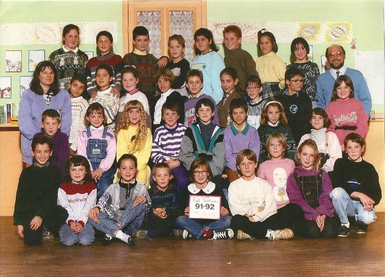 photo de classe cm1 cm2 de 1992 ecole jacques brel saint pere en retz copains d 39 avant. Black Bedroom Furniture Sets. Home Design Ideas
