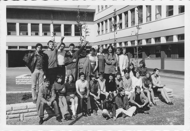 photo de classe 1 232 re d de 1970 lyc 233 e mont blanc ren 233 dayve copains d avant