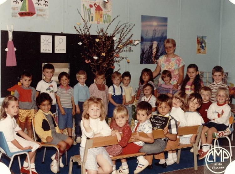 Photo de classe maternelle de 1985 ecole notre dame for Eurville bienville