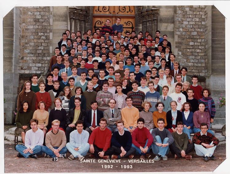 photo de classe pr pa piston 1992 1993 de 1992 lyc e sainte genevi ve copains d 39 avant. Black Bedroom Furniture Sets. Home Design Ideas