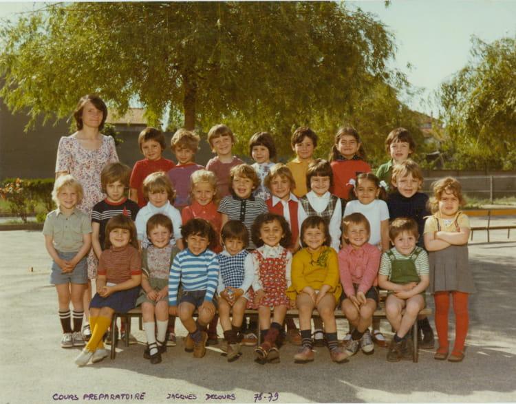 photo de classe cp de 1978 ecole jacques decour copains d 39 avant. Black Bedroom Furniture Sets. Home Design Ideas