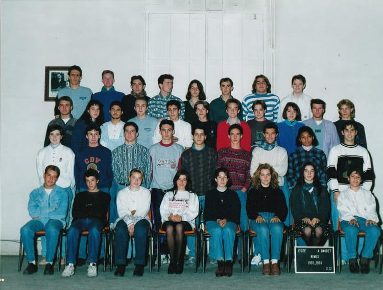 Photo de classe 2nde lyc e alphonse daudet de 1993 lyc e for Lycee alphonse daudet