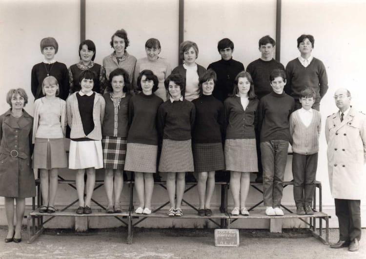 Photo de classe Classe de 3 u00e8me de 1966, COLLEGE ALFRED KASTLER   Copains d u0026#39;avant