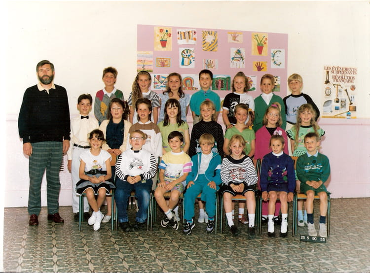 photo de classe ce2 de 1990 ecole anatole france saint pol sur mer copains d 39 avant. Black Bedroom Furniture Sets. Home Design Ideas