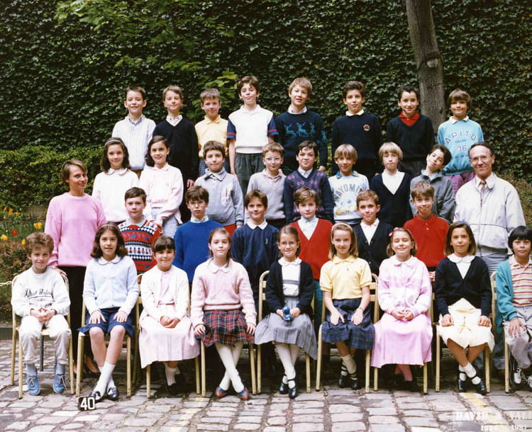 photo de classe 8 me bleue de 1987 ecole saint jean de passy copains d 39 avant. Black Bedroom Furniture Sets. Home Design Ideas