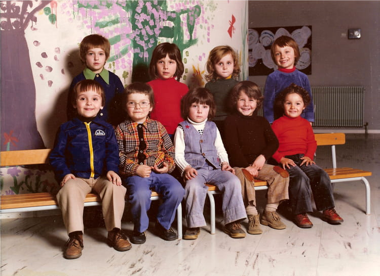 photo de classe ecole maternelle de 1975 ecole alouettes montbeliard copains d 39 avant. Black Bedroom Furniture Sets. Home Design Ideas