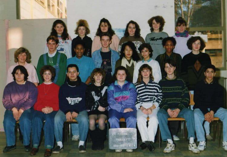 photo de classe 2 acca lyc ee a perdonnet thorigny sur marne de 1989 ecole alain meaux. Black Bedroom Furniture Sets. Home Design Ideas